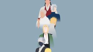 Hashirama Senju Hiruzen Sarutobi Kakashi Hatake Minato Namikaze Naruto Uzumaki Tobirama Senju Tsunad 4763x2972 Wallpaper