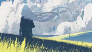 Girl Meadow 3000x1688 Wallpaper