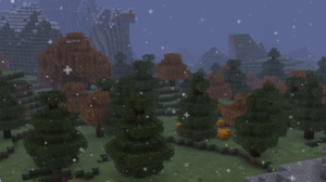 Minecraft Snow Trees Resource Pack 1920x1080 Wallpaper
