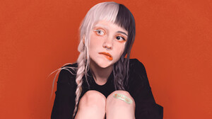 Artwork Cruella Fan Art Nanao Laishram Digital Art Women 1920x1080 wallpaper