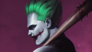 Baseball Bat Dc Comics Joker 2560x1440 wallpaper