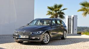 Car BMW Black Cars Vehicle Numbers BMW 3 Series BMW F30 1920x1080 Wallpaper