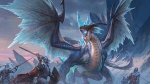 Artwork Battle Knight Dragon Creature Fantasy Art Yellow Eyes Fantasy Armor Sword Shield 1920x1096 Wallpaper