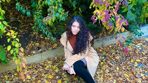 Brittany Venti Women Curly Hair Looking At Viewer 1536x2048 Wallpaper