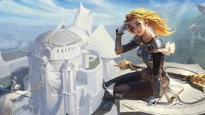 League Of Legends Lux League Of Legends Lejia Chan 3840x1920 Wallpaper