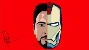Tony Stark Iron Man Red Movies Marvel Comics 5798x3310 Wallpaper