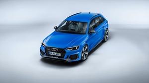 Audi Audi Rs4 Blue Car Car Luxury Car Vehicle 4096x2304 Wallpaper