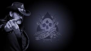 Lemmy Kilmister Motorhead Ace Of Spades Heavy Metal Dark Hair Metal Music Men Deceased 1920x1080 Wallpaper