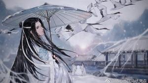 Lan Wangji Lan Zhan 1920x1080 Wallpaper