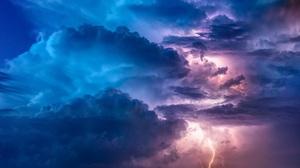Cloud Lightning Nature Storm 2700x1519 Wallpaper
