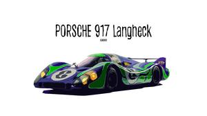 Artistic Car Digital Art Porsche Race Car Sport Car 3000x1688 wallpaper