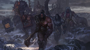 Blackhand World Of Warcraft Grommash Hellscream Gul 039 Dan World Of Warcraft Kargath Bladefist Kilr 1920x1183 Wallpaper