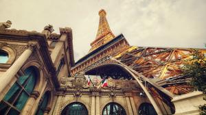 Eiffel Tower Las Vegas 4896x3264 wallpaper