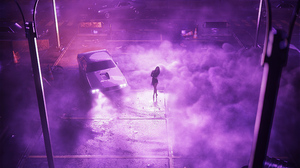 Women With Cars 2014 Dodge Charger R T Drift Muscle Cars Night Ballerina 3840x2160 Wallpaper