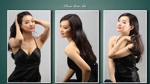 Asian Cute Oriental Shin Min Ah Woman 1920x1200 Wallpaper
