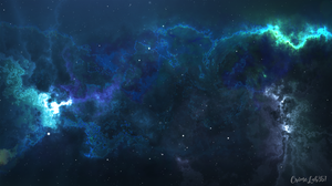Space Galaxy Watermarked 1920x1080 Wallpaper