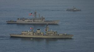 Military Ship 1600x1067 Wallpaper