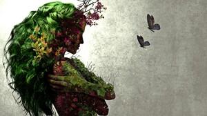 Nature Earth Tree Plant Girl Flower 2560x1440 Wallpaper