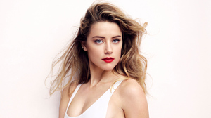 Blonde Lipstick Blue Eyes American Actress Girl 4350x2447 Wallpaper