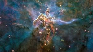 Nebula Carina Nebula NASA Hubble 2560x1600 Wallpaper