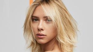 Actress American Blonde Face Scarlett Johansson 2588x1456 Wallpaper