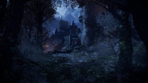 A Plague Tale Innocence Night PC Gaming Nvidia Unreal Engine 4 Castle Moonlight Screen Shot 2560x1440 Wallpaper