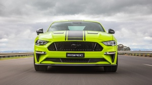 Car Ford Ford Mustang Green Car Muscle Car Vehicle 5540x3773 Wallpaper
