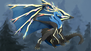 Xerneas Pokemon 3800x2700 wallpaper
