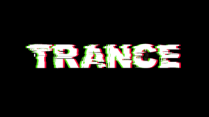 Trance Electronic Music Typography Simple Background Black Background Minimalism 3840x2160 Wallpaper