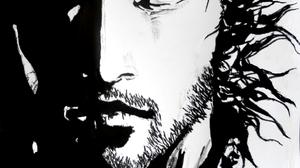 Vagabond Inoue Takehiko Vagabond Water Ink Wash Paintings Samurai Manga Sketch 1543x2200 wallpaper