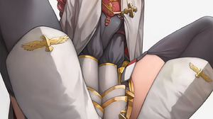 Fate Apocrypha FGO Fate Series Femboy White Boots Embarrassed Sweatdrop Anime Boys Cape Sitting Open 1414x2000 Wallpaper