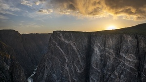 Nature Sunlight Rock Mountains Landscape Canyon 1954x1170 Wallpaper