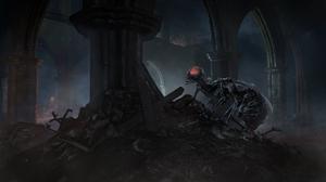 Creature Creepy Dark Souls Iii 3840x2160 Wallpaper