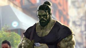 Hulk Marvel Comics 3840x2160 wallpaper