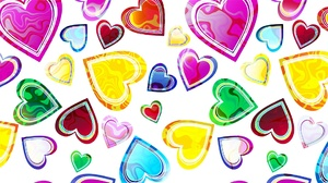 Colorful Heart 1920x1080 Wallpaper