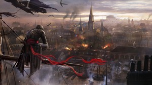 Video Game Assassins Creed Unity 3840x1546 Wallpaper