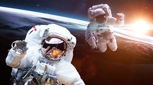Astronaut Cosmos Space Stars 5200x3250 Wallpaper