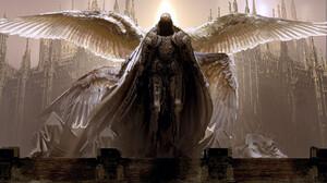 Fantasy Art Artwork Wings Knight 1920x1141 Wallpaper
