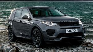 Black Car Car Crossover Car Land Rover Discovery Sport Dynamic Luxury Car Suv Subcompact Car 1920x1080 wallpaper
