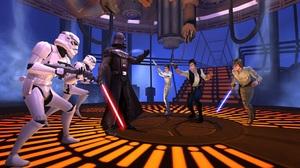 Darth Vader Han Solo Luke Skywalker Princess Leia Star Wars Galaxy Of Heroes Stormtrooper 1920x1200 Wallpaper