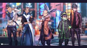 Avatar Avatar The Last Airbender Aang Katara Sokka Prince Zuko Toph Beifong Anime Boys Cyber Cyberpu 3483x1959 wallpaper