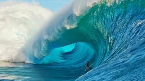 Earth Wave Surfer Ocean 2048x1152 Wallpaper