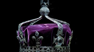 Crown Diamond Gems Purple 2500x1562 wallpaper