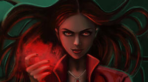 Marvel Comics Scarlet Witch 2500x1583 Wallpaper