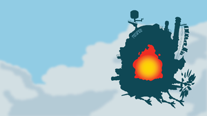 Calcifer Howl 039 S Moving Castle Castle 1920x1080 wallpaper