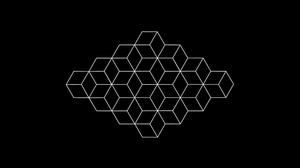 Optical Illusion Minimalist Black Amp White 3840x2160 Wallpaper