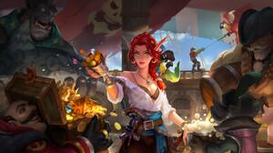 DereK Jiang World Of Warcraft Fan Art ArtStation PC Gaming Video Game Art Video Game Girls Fantasy G 1920x1010 Wallpaper