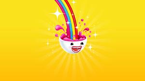Brain Colorful Rainbow 1600x1200 Wallpaper