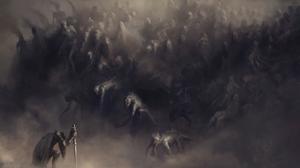 Sword Artwork Fantasy Art Knight 3240x2160 Wallpaper