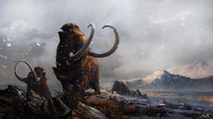 Landscape Mammoth Nature 1920x1080 Wallpaper